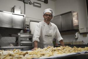 Il cuoco Sandro Mercati