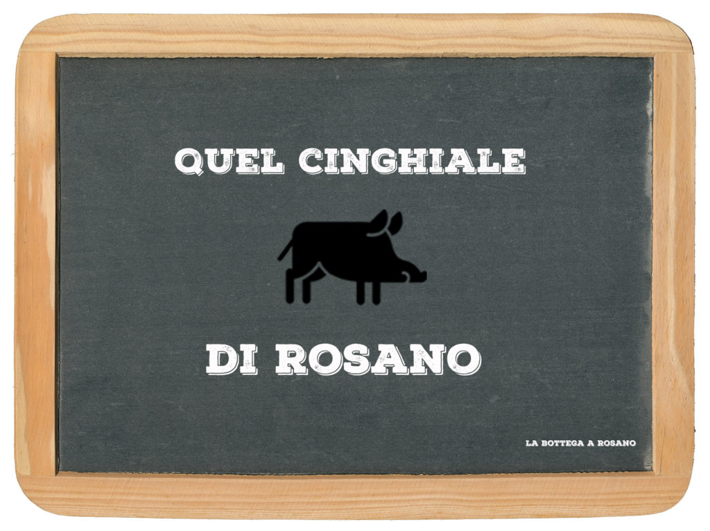 CINGHIALE DI ROSANO