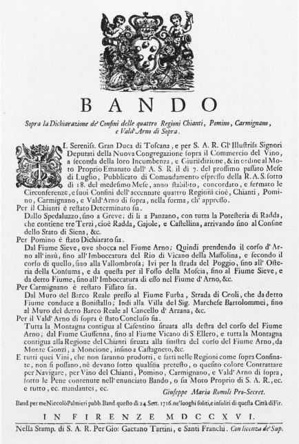 Bando Cosimo de' Medici