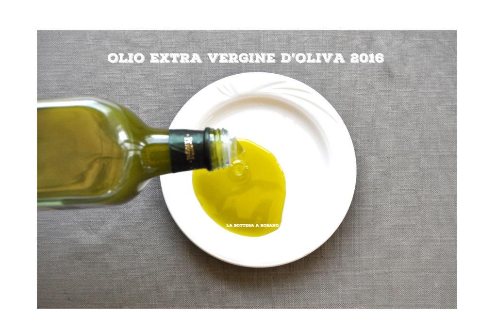 OLIO EXTRA VERGINE D'OLIVA 2016